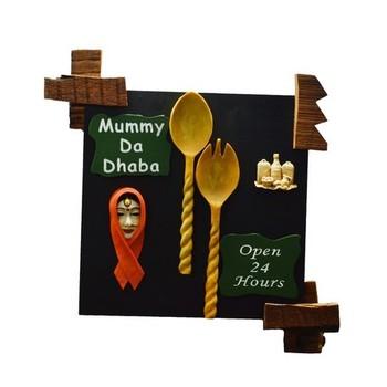 Mummy Da Dhaba Wall Hanging