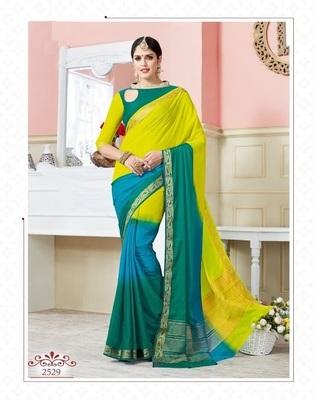 multicolor woven art_silk_sarees saree with blouse