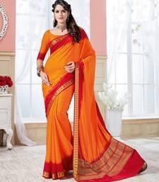 Buy multicolor woven art_silk_sarees saree with blouse art-silk-saree online