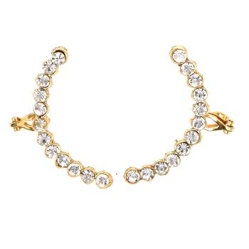 Reeti Fashions - White Stone studded Ear-cuffs