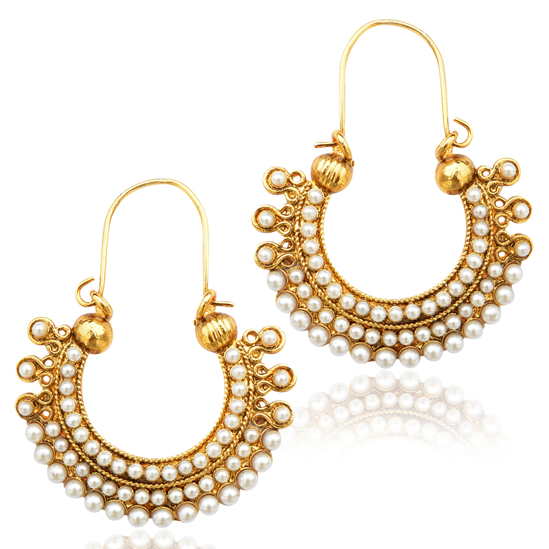 earring gold indian earrings l