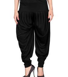 Buy Black stirped free size harem pant harem-pant online