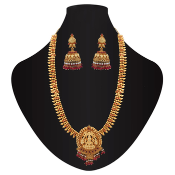 Miraculously Divine temple necklace set