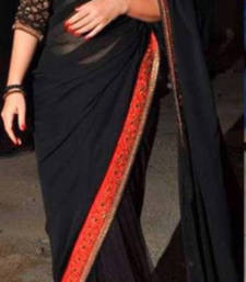 Buy Vidhya Balan Indian Traditional Bollywood Designer Partywear saree, Fancy Saree vidya-balan-saree online