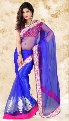 Bipasha Basu Indian Traditional Bollywood Designer Partywear saree, Designer Saree