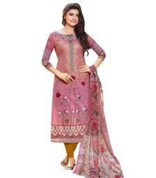 Buy Multicolor printed cotton salwar Woman online