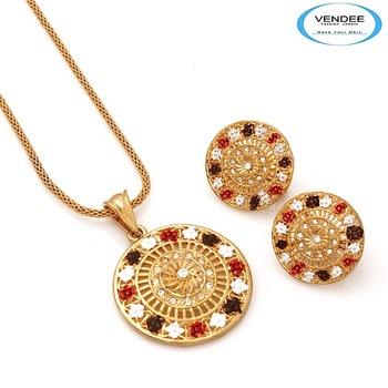 Vendee-Rich Look Diamond Pendant jewelry (6899)