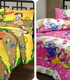 Buy Micro Cotton Single Bed Cartoon Quilt  and  Dohar Combo pack of 2 quilt online