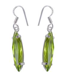Buy Green crystal earrings Earring online