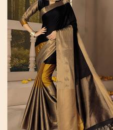 Buy Multicolor plain silk saree with blouse kota-silk-saree online