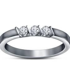 Buy Three Stone Simulated Diamond Womens Beautiful Wedding Engagement Ring Ring online