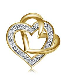 Buy 925 Sterling Silver Pendant For Women( Yellow) Pendant online