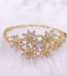 Buy Gold diamond bangles-and-bracelets bangles-and-bracelet online