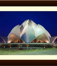 Buy The Lotus Temple Painting painting online