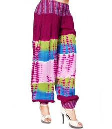 Buy Fashionable Solid Rayon Silk Women Harem Pants harem-pant online