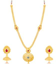 Buy Sukkhi Amazing Gold Plated Necklace Set for women necklace-set online