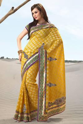 Golden Upada Sari