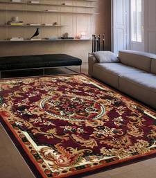 Buy new high quality persian floral carpet for living room and hall carpet with 0.5 inch hight 6x8 feet(180x240cm) carpet online