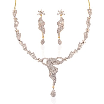 Heena Contemporary collection Necklace set >> HJNL133 <<