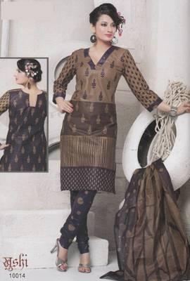 Dress material cotton designer prints unstitched salwar kameez suit d.no 10014  Prints