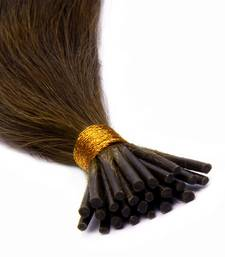 Buy Keratin Pre-bonded Stick Tips (I) Remy Bleached Human Hair 18 inches Colour no. 27 wig online