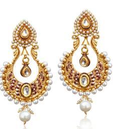 Buy White cubic zirconia earrings Earring online