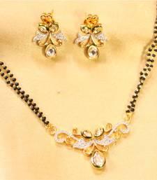 Buy Beautiful Pattern A D Kundan Mangal Sutra Online
