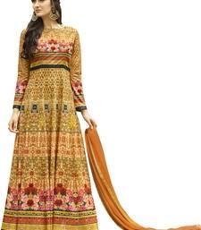 Buy Multicolor floral print silk blend salwar jersey-salwar-kameez online