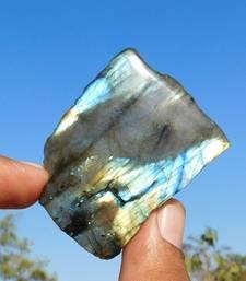 Buy 175.1 Cts Royal Solid A++ Labradorite 55X40X7 Mm Slice Loose Cabochon Gemstone loose-gemstone online