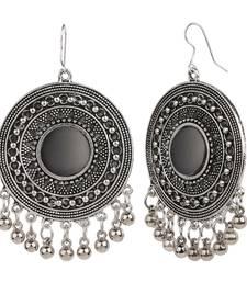 Buy Silver crystal danglers-drops danglers-drop online