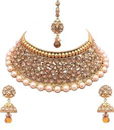 Necklace sets online online shopping for necklaces designs pearl buy sukkhi moddish choker gold plated necklace set necklace set online buy small 1d44ff3f4d093069d56e7327eedc29da60f5c0cc09300f652d7f464c9cb4e123 aloadofball Image collections
