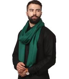 Buy green  jacquard pashmina shawl shawl online