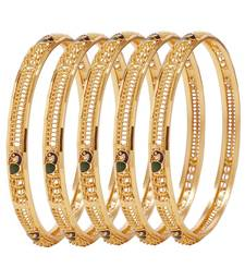 Buy Gold crystal bangles-and-bracelets bangles-and-bracelet online