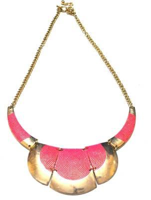 Neon Bull choker (pink)