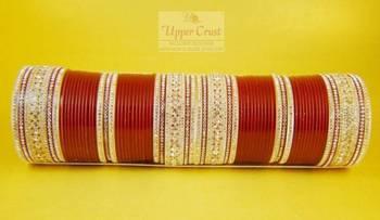 Indian Traditional Bridal Bangles Dulhan Chura Size-2.6