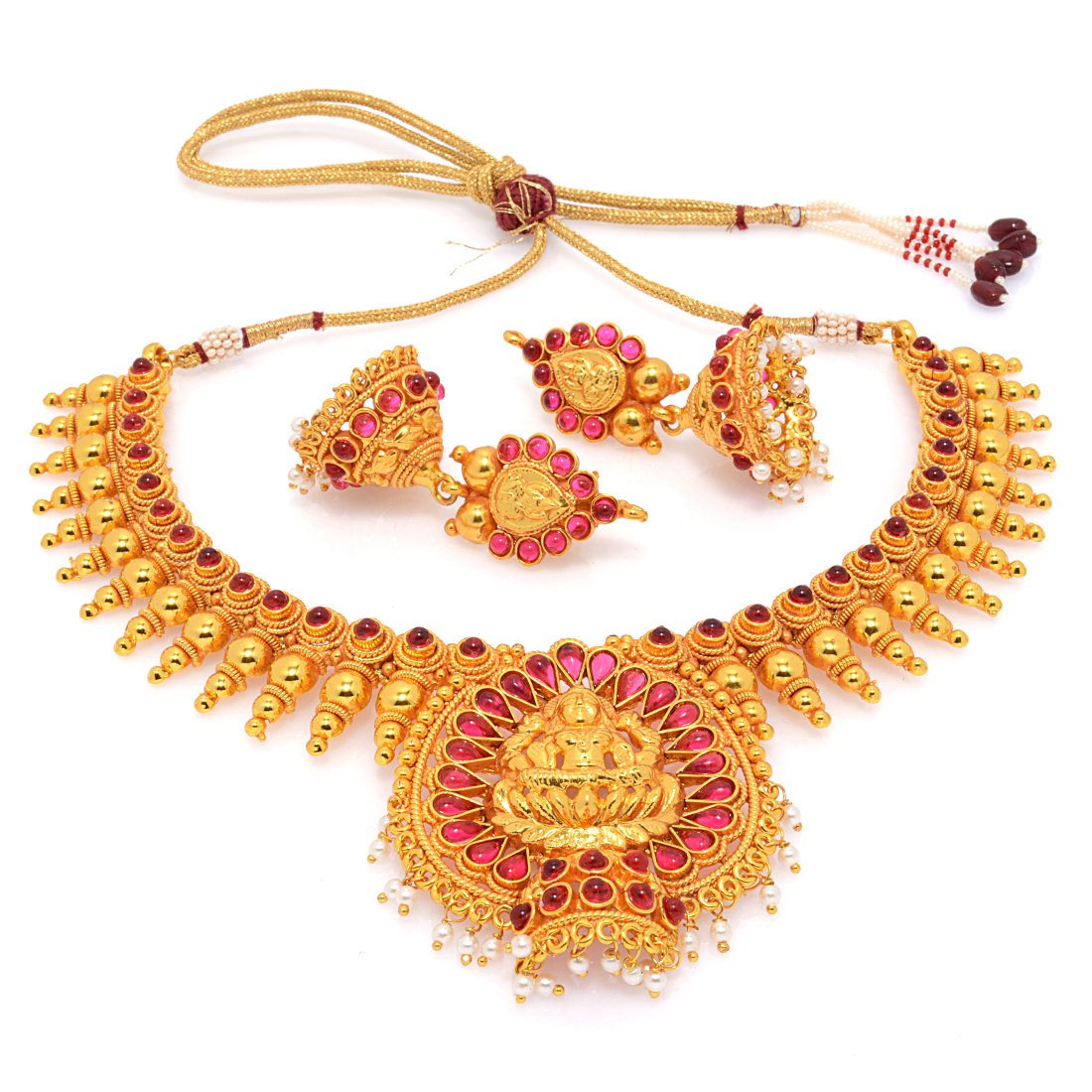 temple jewellery online shopping india designs collections
