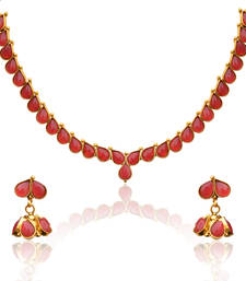 Buy Pink Pearl necklace-sets AB126R necklace-set online