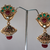 Antique ethnic earrings