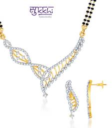 Sukkhi Stunning Gold and Rhodium plated
