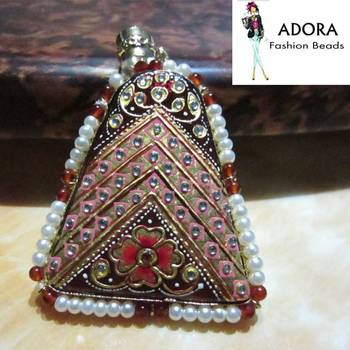 Tanjore art traditional south indian jewellery !!