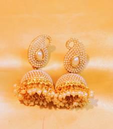 Buy pearl non copper jhumkaas jhumka online