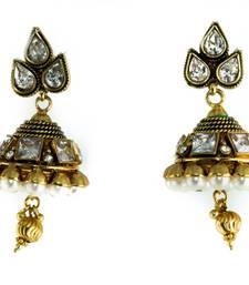 Buy Designer earrings danglers-drop online