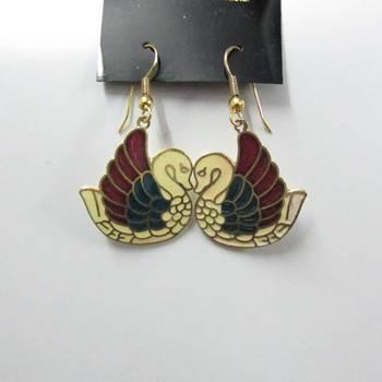 Cute enamel earring