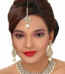 Buy Darlington Chocker Set With Pearls necklace-set online