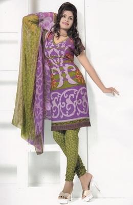 Crepe Dress Material Elegant Designer Unstitched Salwar Suit D.No 7262