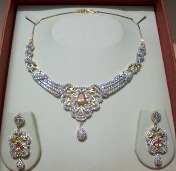 AD-CZ Necklace 014