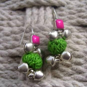 pink green drops