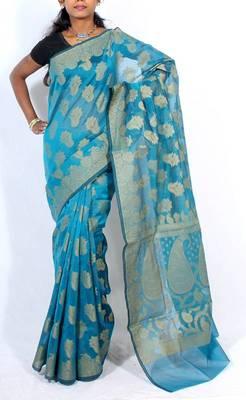 Banarasi supernet cotton saree