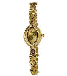 Buy Gold Plated Desginer Wrist Watch Mothers Day Gift anniversary-gift online