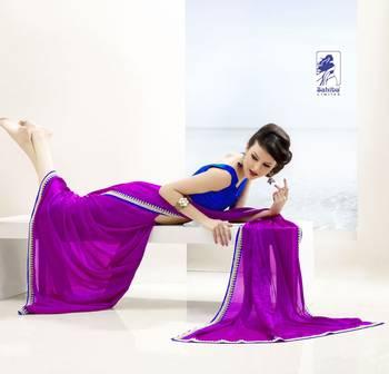 Elegant Designer Sari Kesar16